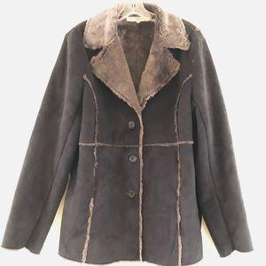 Mojo Moda Black Suede Jacket XL
